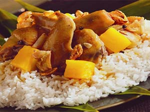 Chicken Adobo Pineapple