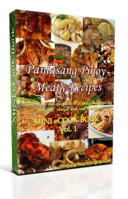Panlasang pinoy meaty recipes mini ecook book panlasang pinoy meat mini cookbok ccuart Choice Image