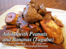 Adobo with Peanuts and Bananas (Taguba)