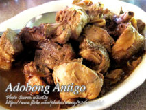 Adobong Antigo (Adobo with Rum)