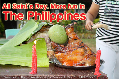 Filipino Foods on All Saints Day