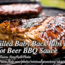 Baby Back Ribs with Root Beer Barbecue Sauce