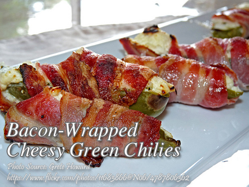 Bacon-Wrap Cheesy Chilies