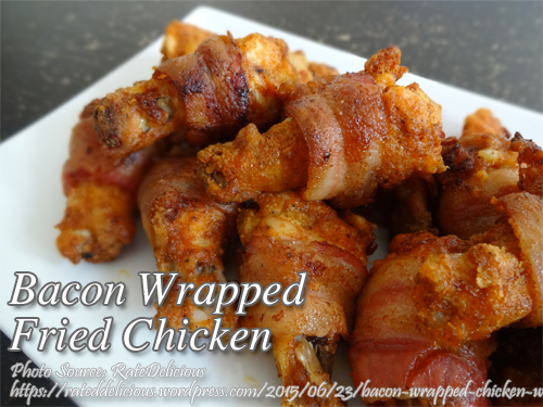 Bacon-Wrapped Fried Chicken