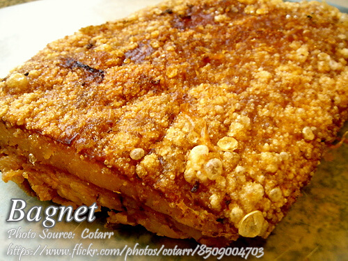 Bagnet (Crispy Pork Belly) with Pork Blood Dip