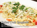 Baked Crab Spaghetti