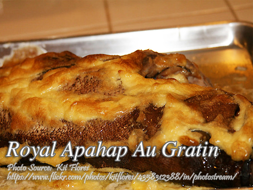 Royal Apahap Au Gratin (Sea Bass Au Gratin)