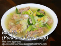 Bas-Uy (Pork and Liver Soup)