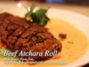 Beef Atchara Roll