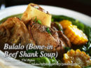 Beef Bulalo (Bone-in Beef Shank Soup)