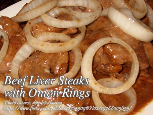 Beef Liver with Onions