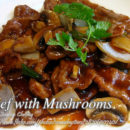 Beef with Mushrooms
