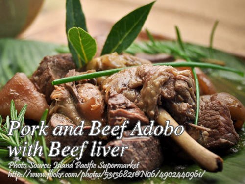 Beef Pork and Liver Adobo