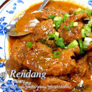 Beef Rendang (Coconut Milk Spicy Beef Stew)