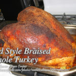 Old Style Braised Whole Turkey