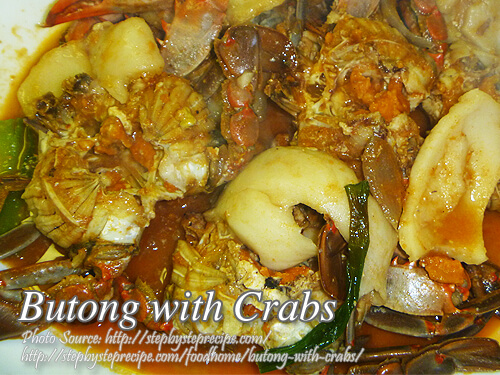 Butong with Crabs