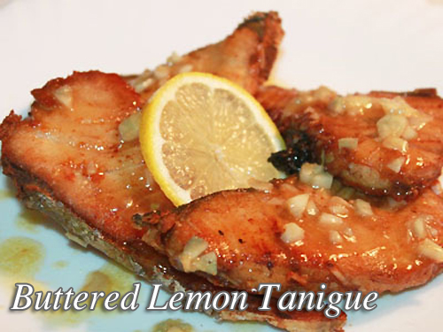 Buttered Lemon Tanigue