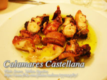 Calamares Castellana (Grilled Squid with Olive Oil Sauce)