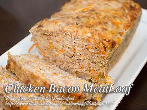 Chicken Bacon Meatloaf