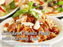 Chicken Chunks Pasta with Kesong Puti