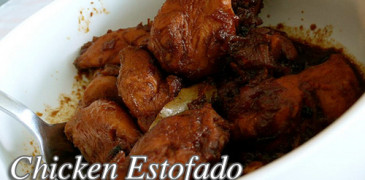 Chicken Estofado