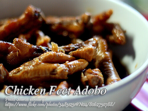 Chicken Feet Adobo