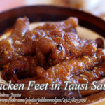 Chicken Feet in Tausi Sauce