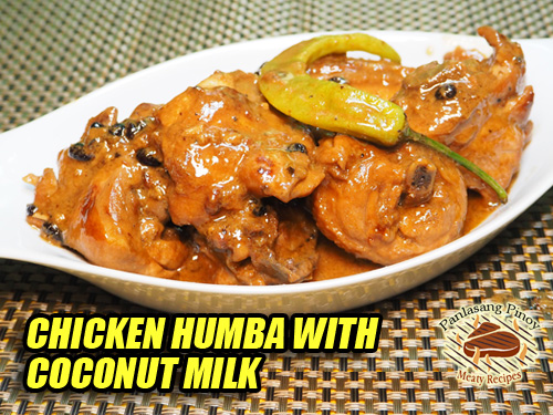 Chicken Humba with Coconut Milk