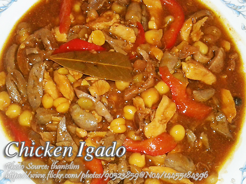 Chicken Igado