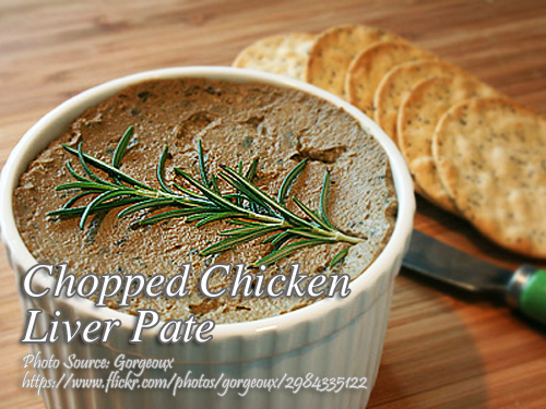 Chopped Chicken Liver Pate