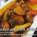 Chicken and Pork Afritada