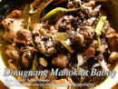 Dinuguang Manok at Baboy (Pork and Chicken Blood Stew)