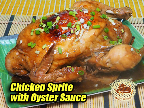 Chicken Sprite with Oyster Sauce Pin It!