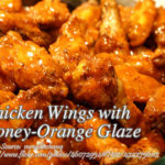 Chicken Wings with Honey-Orange Glaze