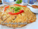 Crab and Patola Omelet