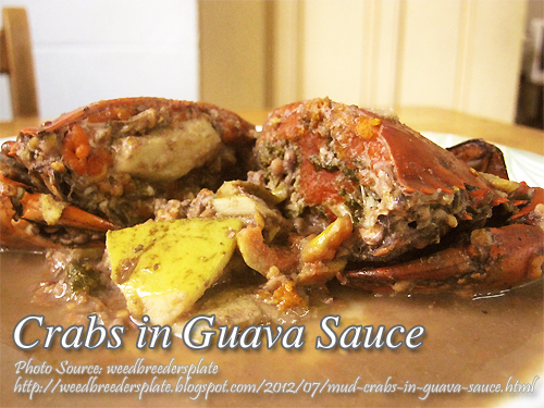 Crabs in Guava Sauce