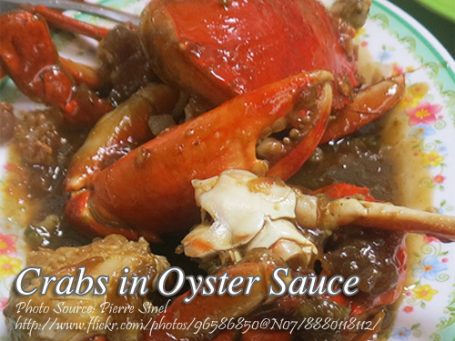 Crabs in Oyster Sauce