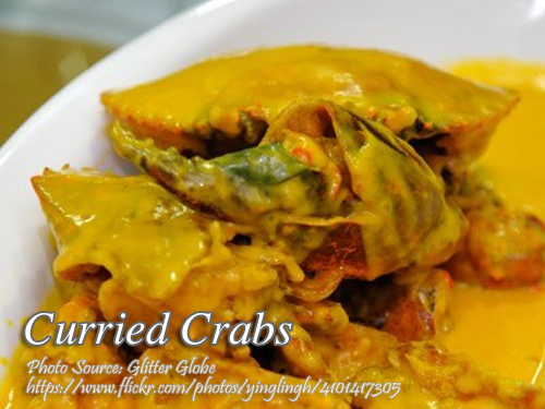 Curried Crabs