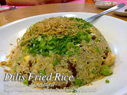Dilis Fried Rice