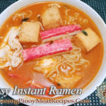 Easy Instant Seafood Ramen