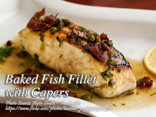Fish Fillet with Capers