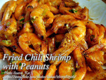 Fried Chili Shrimp with Peanuts