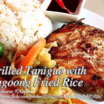 Grilled Tanigue with Bagoong Fried Rice