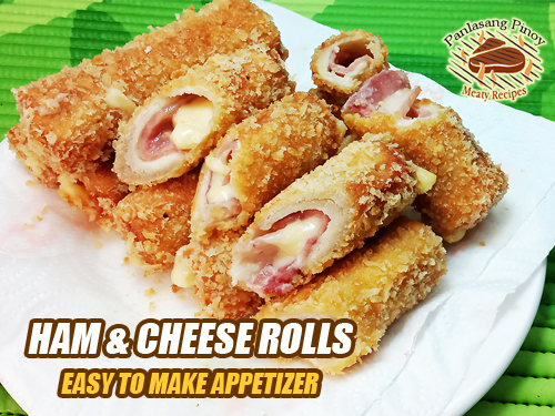 Ham and Cheese Rolls