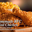Homemade KFC Fried Chicken