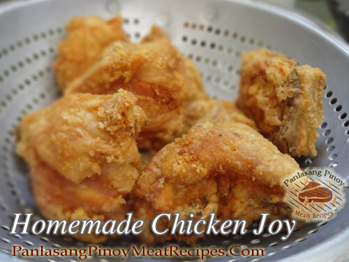 Homemade Chickenjoy