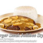 Burger Steak Jollibee Style with Mushroom Gravy