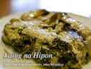 Laing na Hipon (Shrimps with Taro Leaves)