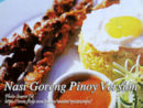 Nasi Goreng Pinoy Version