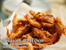Nilasing na Hipon (Drunken Shrimps)